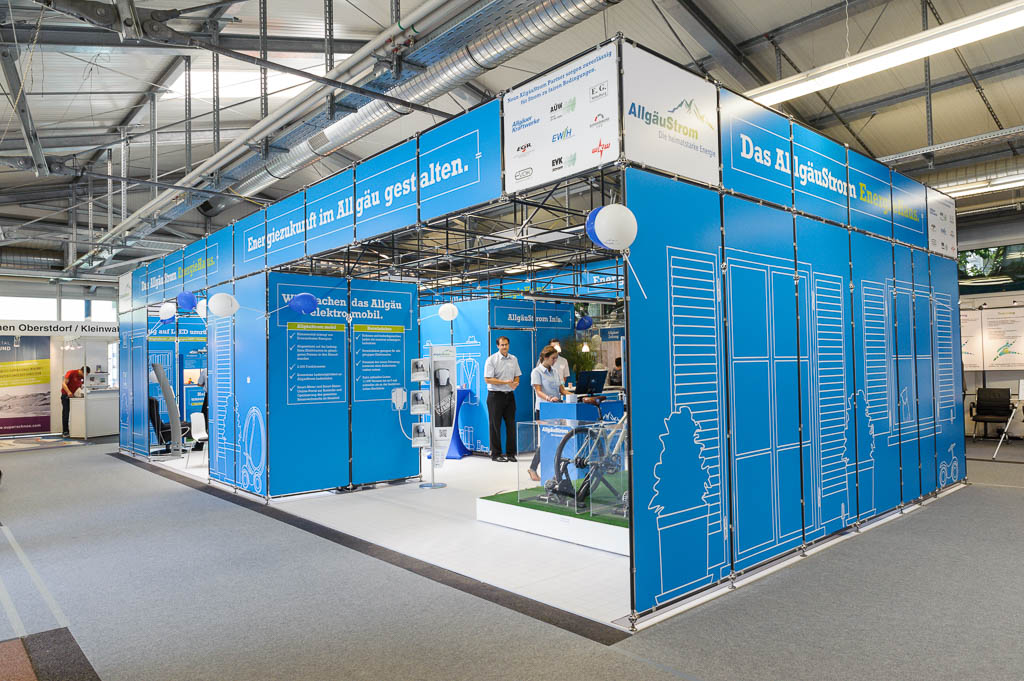 Messestand AÜW