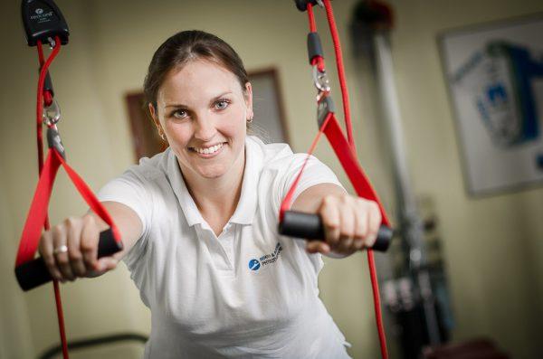 Business-Portrait Physiotherapeutin, Fotograf: Kees van Surksum