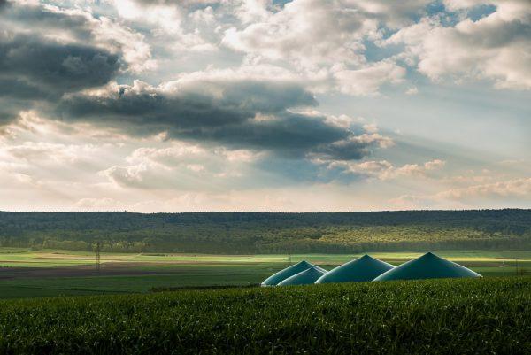 Biogasanlage bei Biberach, Fotograf: Kees van Surksum