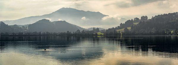 Allgäu Landschaftsfotografie Alpsee Immenstadt mit Grünten Kees van Surksum Fotografie