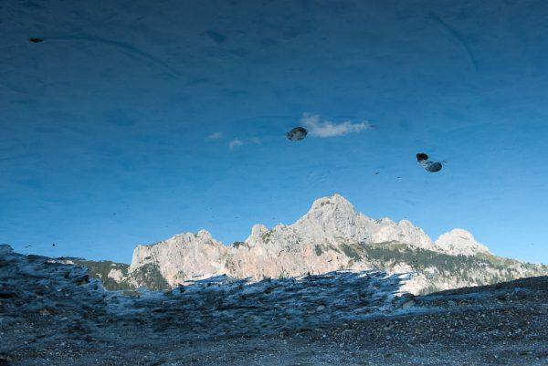 Landschaftsfotografie Berge Tirol Österreich Rotfluh Gimpel Spiegelung Haldensee Tannheimer Tal Kees van Surksum Fotograf im Allgäu