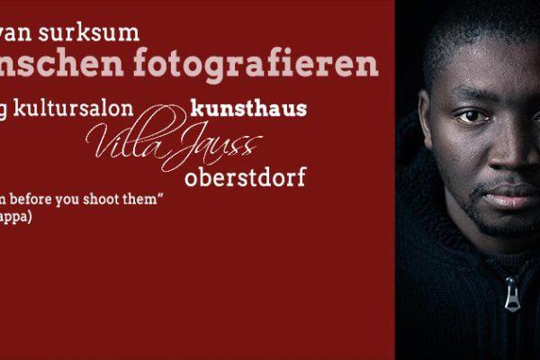 Vortagsankündigung, Fotograf: Kees van Surksum