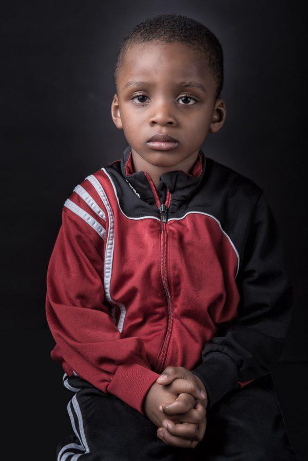 Portrait Projekt NeuDeutsch Fotografie Flüchtlinge Allgäu, Fotograf: Kees van Surksum