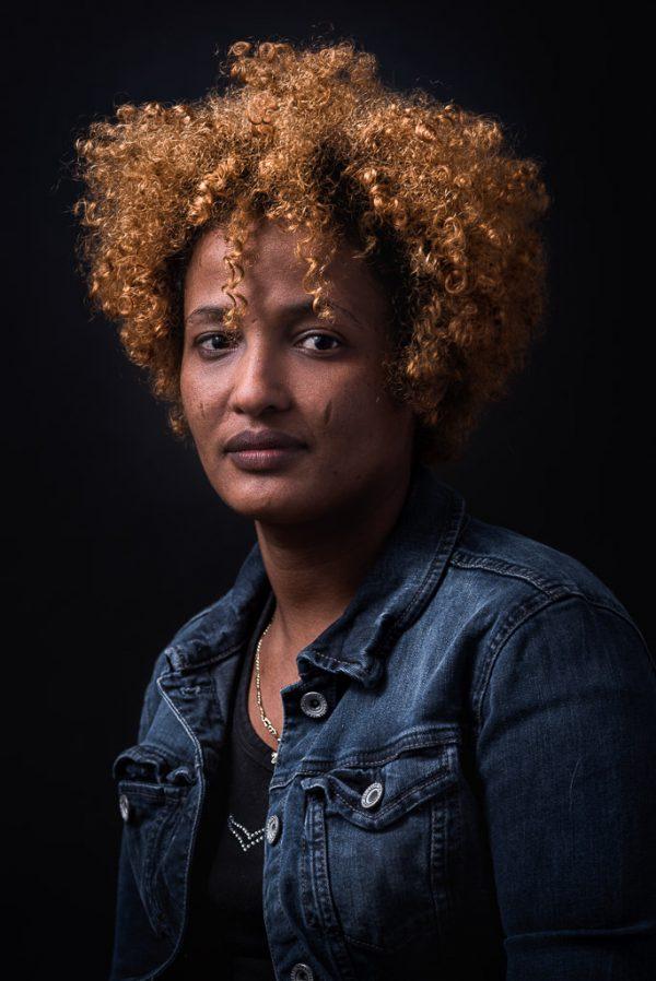 Portrait Projekt NeuDeutsch Fotografie Flüchtlinge Allgäu Fotograf: Kees van Surksum