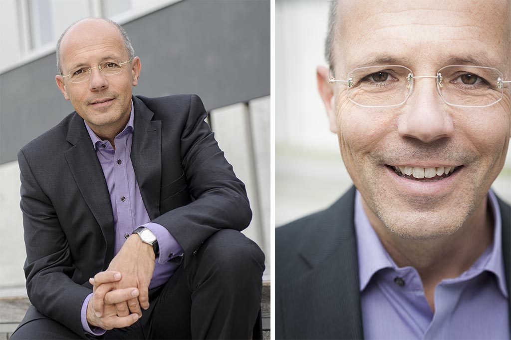 Fotograf Allgäu Portrait SPD Friedrich Zeller Landrat Kandidat OB Memmingen Kees van Surksum Fotograf im Allgäu