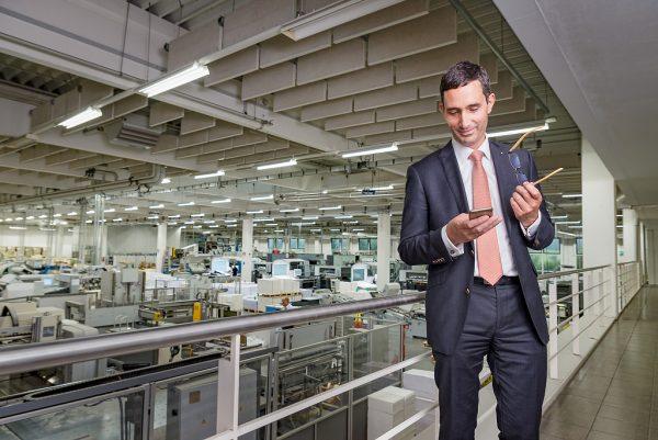 Businessfotografie Businessportrait Kösel Druck Medien Altusried Fotograf Kees van Surksum Kaufbeuren Neugablonz, Landsberg am Lech und München