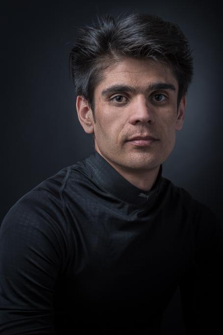 Fotograf Allgäu Porträt Flüchtling für Projekt NeuDeutsch Kees van Surksum