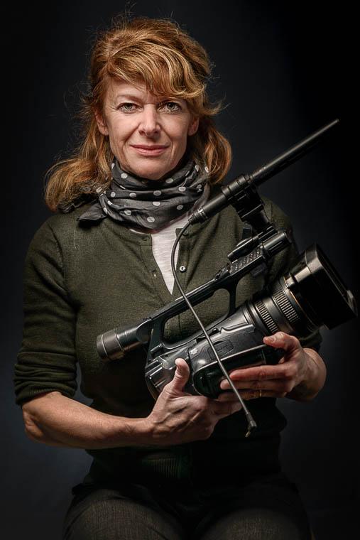 Portrait Fotografie Videokünstlerin Dünßer-Yagci Oberstdorf Oberallgäu Portaritfotografie Businessfotografie